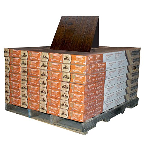 Millstead HandScraped Hickory Chestnut 1/2 in. Thick x 5 in. Wide x Random Length Engineered Hardwood Flooring (868 sq.ft./pallet)