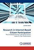 Research in Internet-Based Citizen Participation, Stephen Aikins, 3838304365