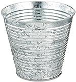 Darice Galvanized Bucket, 6.5' Diameter