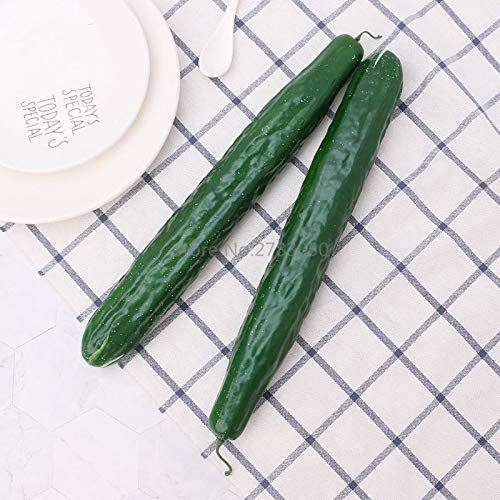 Artificial Foods Vegetables - 1pc Lifelike Artificial Cucumber Simulation Fake Vegetable Photo Props Home Party Decoration Kids - Full Cake Real Model Kitchen 1 Children Scale 6 Reborn Stand Plu