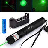 Ultra Pointer Pen Teaching Presenter, Siomentdi a Small Green Pointer - Long Range with Single Pointer (301 Green Full)