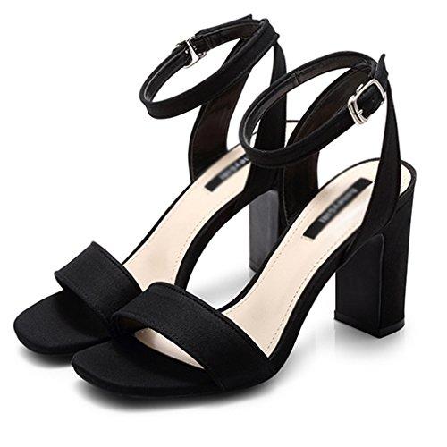 De Salvajes Zapatos Mujer Sandalias De Zapatos Palabra De De Rayas ZCJB Tac Banda Verano De FBvHaYRwqw