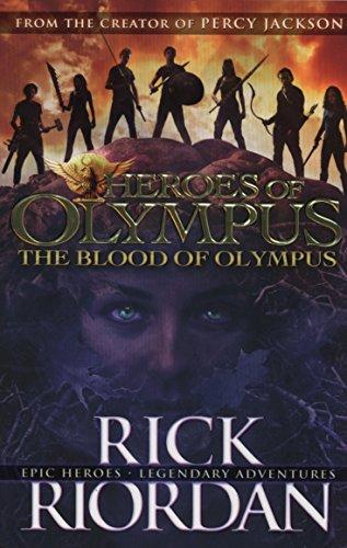 The Blood Of Olympus Heroes Of Olympus Book