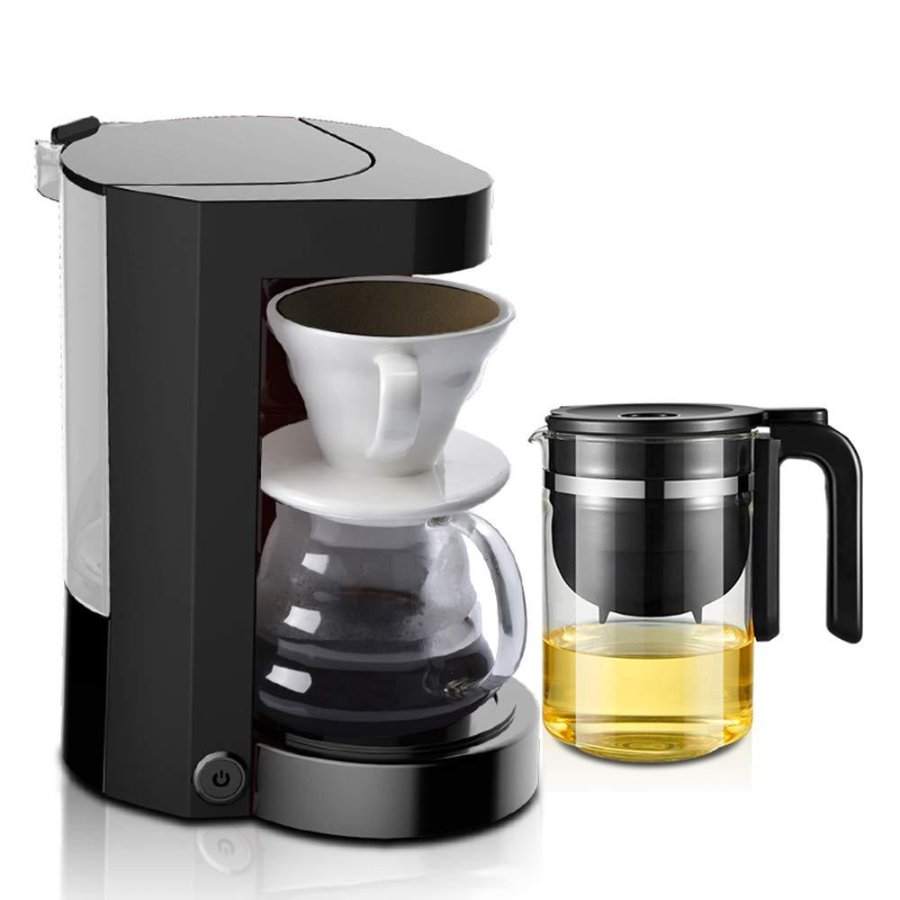 Acquisto GUOJINJIN Macchina da caffè, Concentrato Anti-Gocciolamento Funzione Antigoccia Chicco di caffè Cappuccino Grinder Filtro da Caffettiera in Plastica per Home Office (Nero) Prezzi offerta