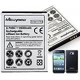 Mbuynow® 2000mAh Batterie Ersatzakku Akku Accu Battery für Samsung Galaxy S2 i9100, i9105, i9105P, i9103