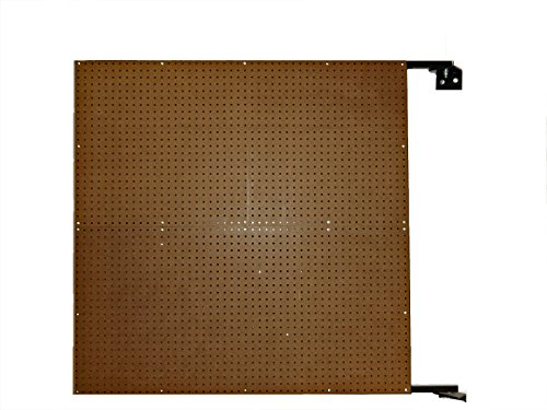Triton Products D1 XtraWall Wall Mount Double-Sided Swing Panel Pegboard 48-Inch W by 48-Inch H by 1-1/2-Inch D by XtraWall