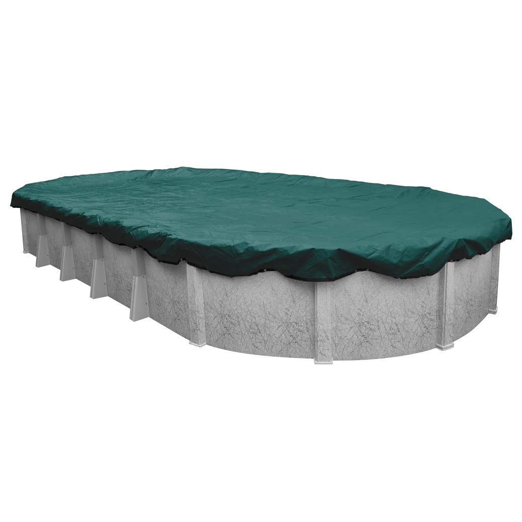 Robelle Supreme Plus/Premier Winter Cover for Oval Above-Ground Pools Teal