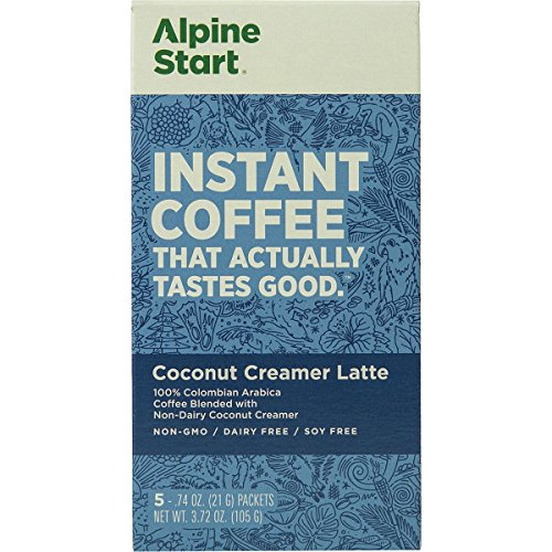 - Alpine Start Coconut Creamer Instant Coffee - 5-Pack One Color, One Size