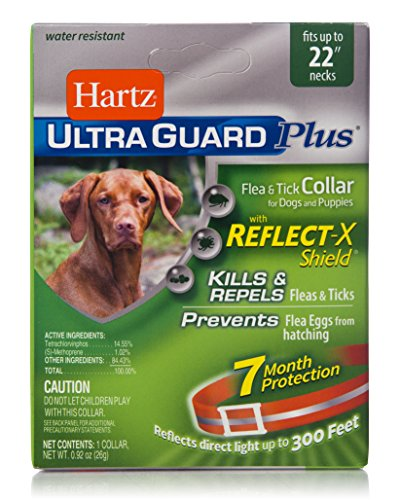 Hartz UltraGuard Plus Reflective Orange Flea & Tick Collar f