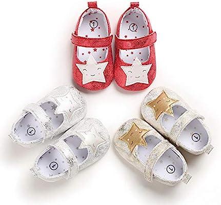 Baby Girls Moccasins Shiny Toddler