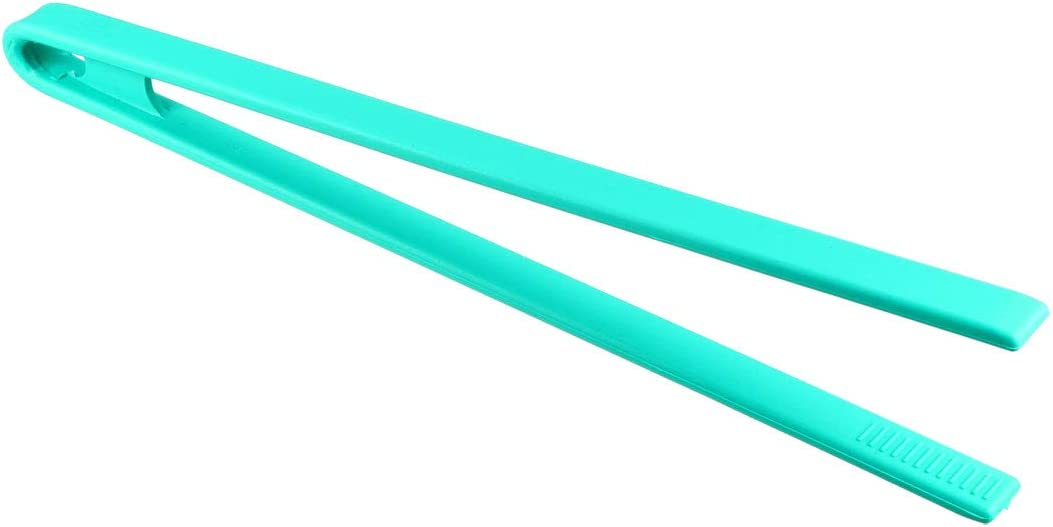 uxcell/® Kitchen Silicone Tongs Trivet Heat Resistant Tongs for Barbecue Cooking and Salads Utensil