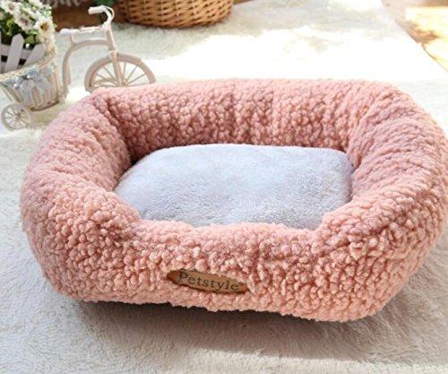 in vendita scontato del 70% BinSanDa BinSanDa BinSanDa Prodotti per Animali Calda Lana di canile Canile Pet Mat Forniture per Animali da Compagnia rosa  fino al 42% di sconto