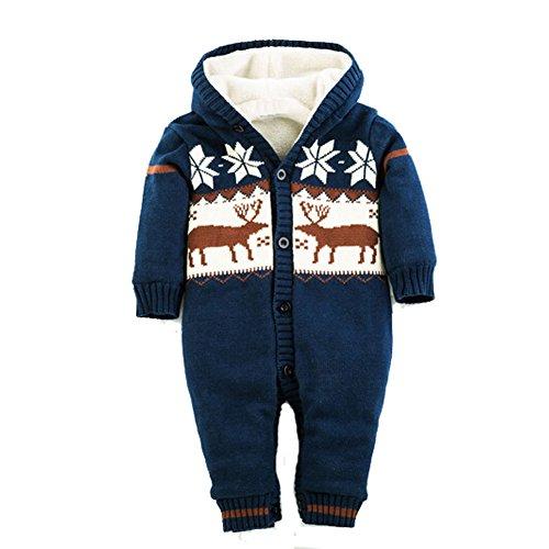 Dimore%C2%AE Rompers Jumpsuit Reindeer Printed