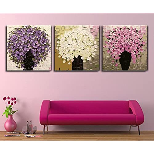 Flower Oil Paintings: Amazon.com