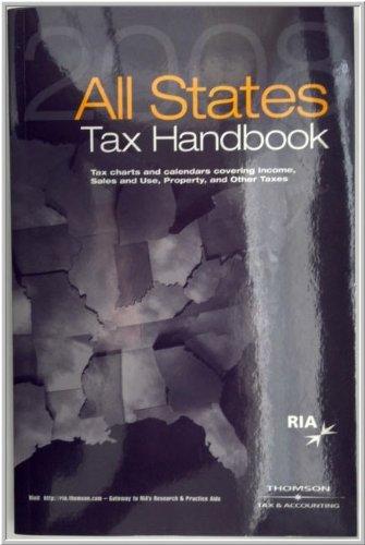All States Tax Handbook 2008 (All States Tax Handbook)