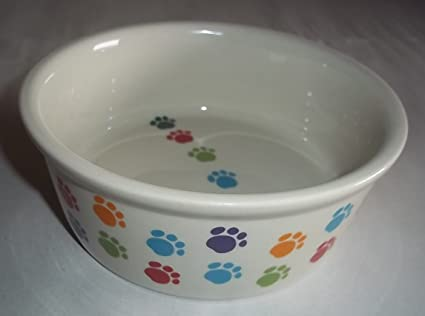 Ethical Stoneware Dish 6887 Ritz Copper Rim Dog Dish Red 5 Inch Ture 100% Guarantee Pet Supplies
