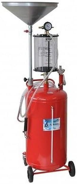 Aspirador de aceite Esausto 80lt + raccogl. Neumático de aire ...