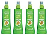 Lot of 4 Garnier Fructis Haircare Fall Fight Strand Saver Anti-Breakage Spray