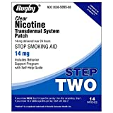 Rugby Clear Nicotine Transdermal System 14mg