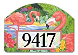Magnet Works FLAMINGO PAIR Magnetic Yard DeSigns Plaque