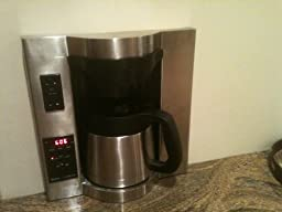 Coffee Maker With Water Line : Amazon.com: Brew Express Programmable 10 Cup Coffee Maker: Built In Coffee Maker: Kitchen & Dining
