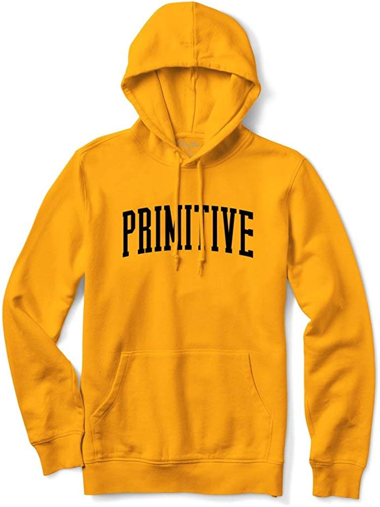 Primitive Houston Mall x Skate Men's Collegiate Hoodie Long Sleeve Pullover Free Shipping New
