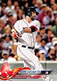 #10: 2018 Topps #104 Mitch Moreland Boston Red Sox Baseball Card