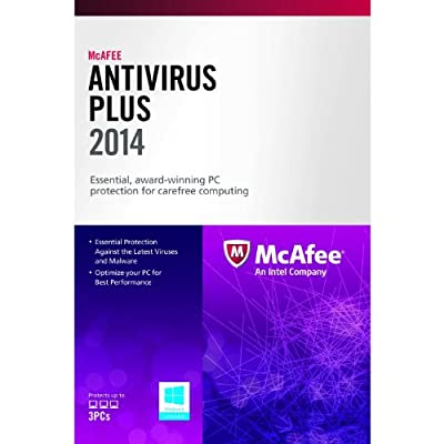 McAfee AntiVirus Plus 2014 (3PCs)