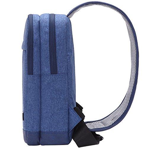 forma squilibrio sacchetto di della dello dello Jbaod del Sacchetto esterno spalla zaino della sacchetto fisica spalla del blu sacchetto Honda di del qEC8PUCSw