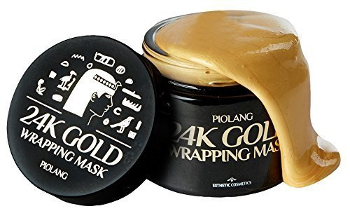 Korean Piolang 24K Gold Wrapping Mask Dilute Redness Balance