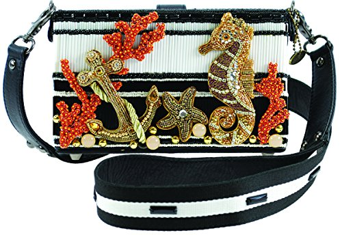 Moment Frances Ocean Embellished Mary Crossbody Seas the Novelty New Theme Handbag 4aHwtqZSx
