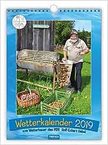 wetterkalender 2019 bauernkalender wandkalender. Black Bedroom Furniture Sets. Home Design Ideas