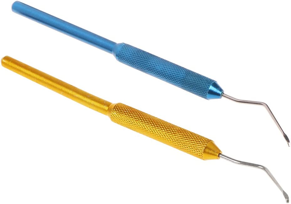 Stainless Steel Double Tool Head Bee Grafting Pen Grafting Needle