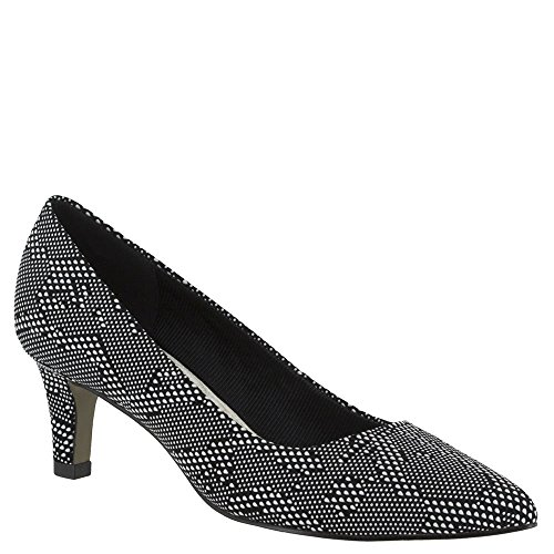 Pompino Da Donna Pointe Easy Street Nero / Bianco