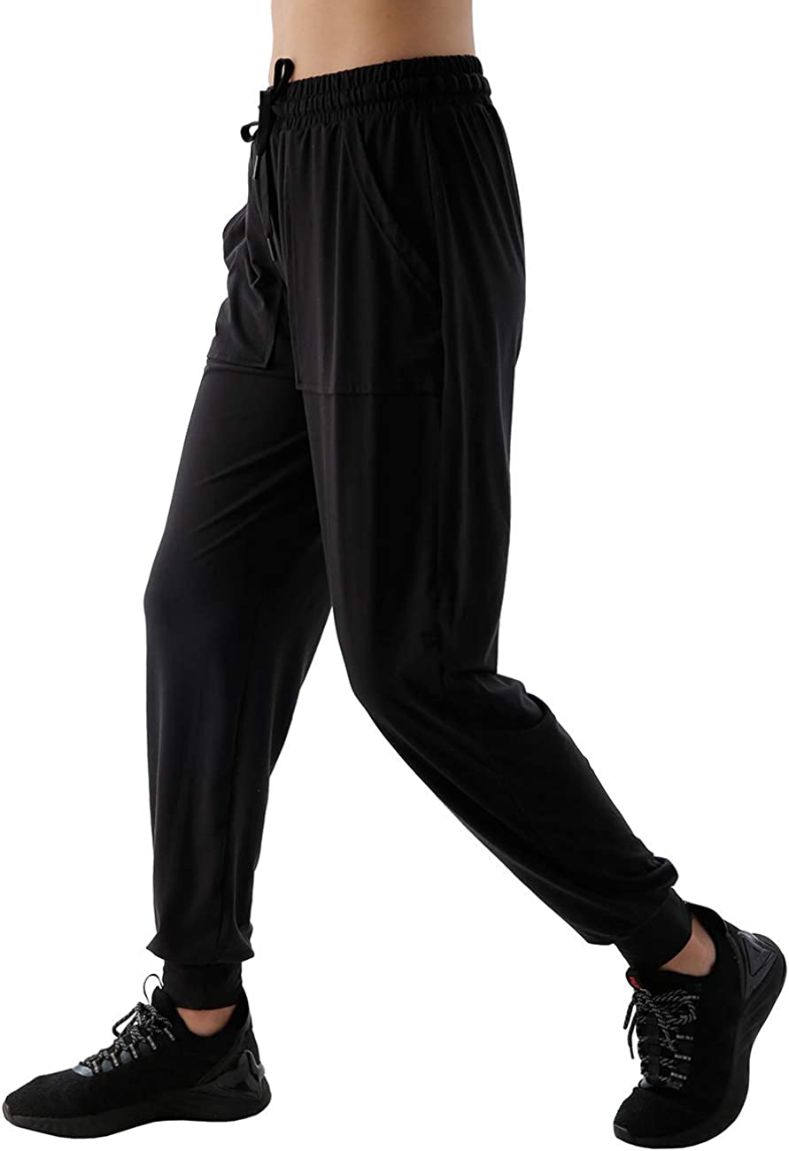 Utheral Womens Drawstring JoggerSweatpantsWorkout Camou Training Active Lounge Pants with Pockets