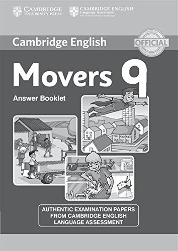 Cambridge English Young Learners 9 Movers Answer Booklet: Authentic Examination Papers from Cambridge English Language A