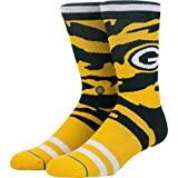 Stance Men's Packers Tigerstripe Socks