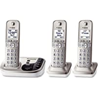 KX-TGD223N Panasonic KX-TGD223N DECT 6.0 1.90 GHz Cordless Phone - Champagne Gold - Cordless - 1 x Phone Line - 2 x Handset - Speakerphone - Answering Machine - Caller ID - Yes - Backlight