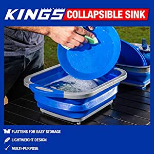 Fruit Vegetable Collapsible Sink Dish Camping Wash Tub