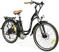 Moma Bikes Bicicleta Electrica, Urbana EBIKE-26