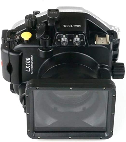 WMWX Funda Impermeable para fotografía subacuática Profesional LX100, Estuche para cámara de Buceo de 40 m, Estuche Impermeable para cámara submarina: Amazon.es: Hogar
