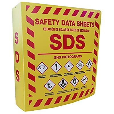 SDS Bilingual 3 Ring Binder