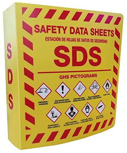 SDS Bilingual 3 Ring Binder