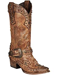Lane Boots Womens Your Harness Western Boot