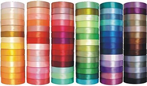 50mm x 32m Band Dekor Dekoration Geschenkband Schleifenband Satinband 6 25