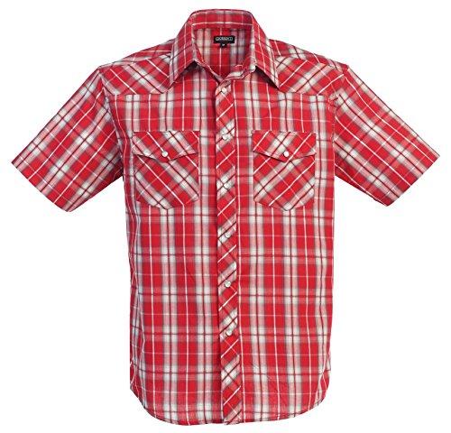 Western Plaid Short Sleeve Shirt