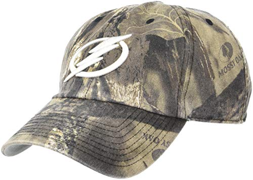 - NHL Tampa Bay Lightning OTS Challenger Adjustable Hat, Mossy Oak - Break-Up Country, One Size