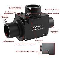 Astromania 1.25 Astrophotography Flip Mirror with Eyepiece Adapter