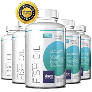 High Quality Fish Oil 1220 Mg Of Omega 3