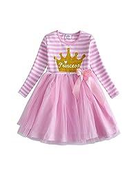 DXTON Little Girl Children Kids Tutu Party Wedding Birthday Dresses